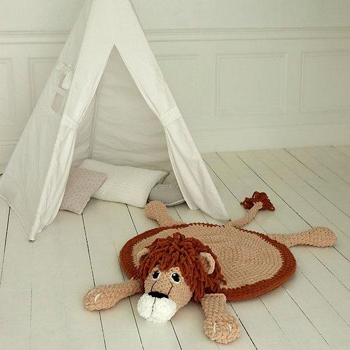 Lion Rug Blanket
