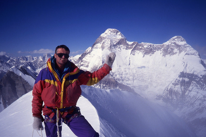 Summit of Panwali Dwar - Martin Moran an