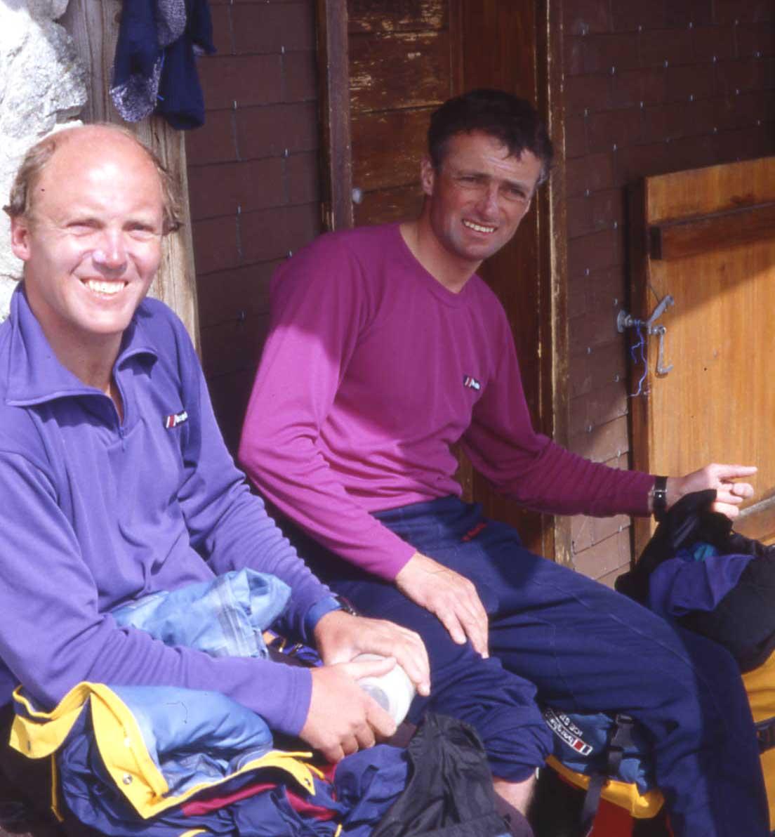 Alpine 4000m Peaks Traverse 1993