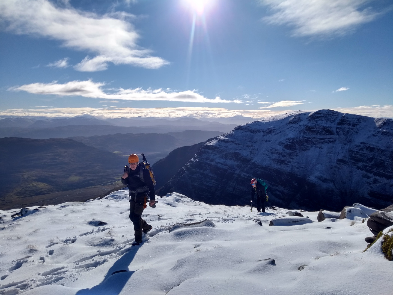 Climbing Scotland