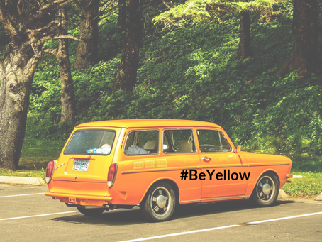 #BeYellow, het waarom van al dat geel