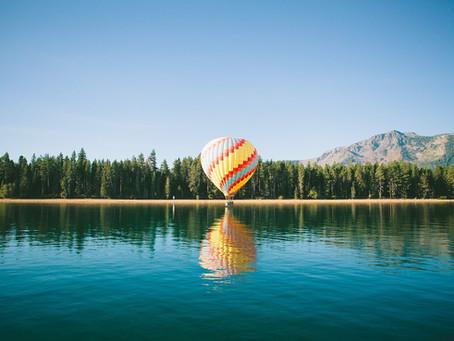 Stap eens in een luchtballon