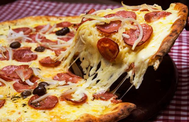 Most delicious pizza at Bagamoyo Restaurant
