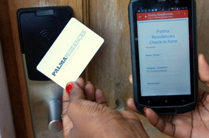 15 second Fast check-in procedure implemented at Palma Residences