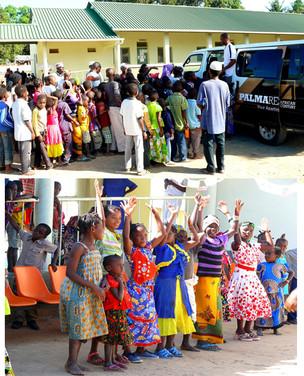 African Century celebrates with the orphans of Palma Dia Internacional da Criança