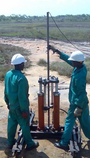 Anadarko pesquisa petróleo em terra