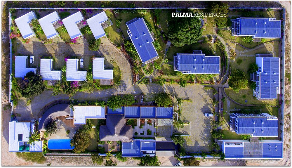Palma Residences by drone