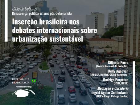 Inserção brasileira nos debates internacionais sobre urbanização sustentável