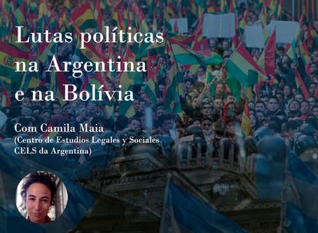 Lutas políticas na Argentina e na Bolívia