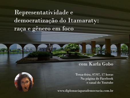 Representatividade e democratização do Itamaraty: raça e gênero em foco