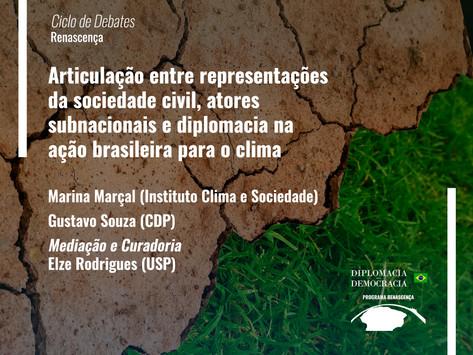 Articulação na ação brasileira para o clima   Programa Renascença