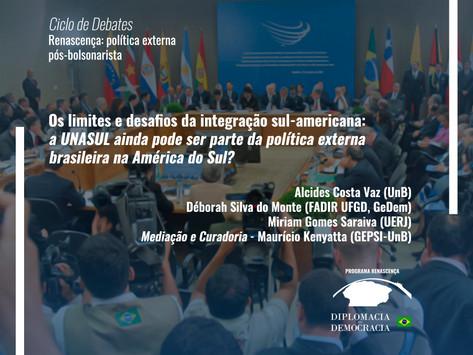 Os limites e desafios da integração sul-americana   Programa Renascença
