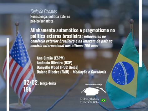 Alinhamento automático e pragmatismo na política externa brasileira   Programa Renascença