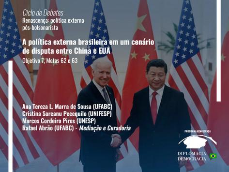 A política externa brasileira em um cenário de disputa entre China e EUA   Programa Renascença