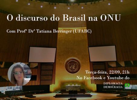 O discurso do Brasil na ONU