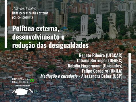 Política externa, desenvolvimento e redução das desigualdades   Programa Renascença