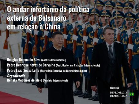 O andar infortúnio da política externa de Bolsonaro em relação à China