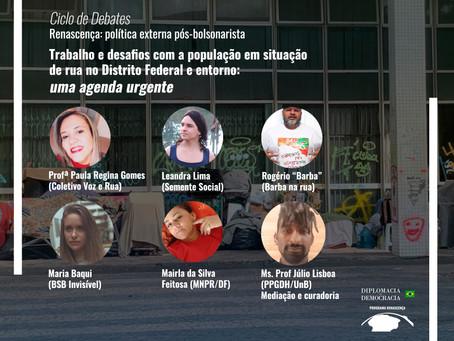 Desafios com a população em situação de rua no DF e entorno: uma agenda urgente