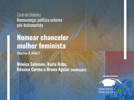 Nomear chanceler mulher feminista | Programa Renascença