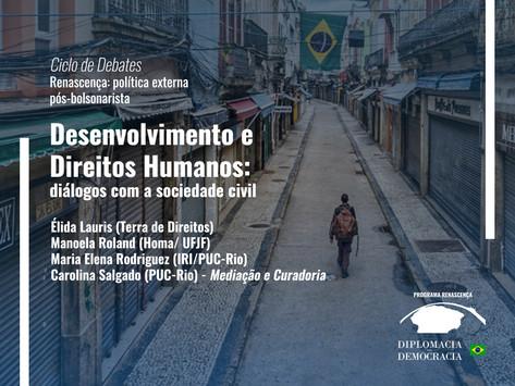 Desenvolvimento e Direitos Humanos: diálogos com a sociedade civil   Programa Renascença