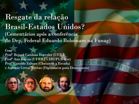 Resgate da relação Brasil-Estados Unidos?