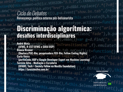 Discriminação algorítmica: desafios interdisciplinares   Programa Renascença