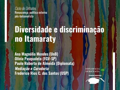 Diversidade e discriminação no Itamaraty   Programa Renascença