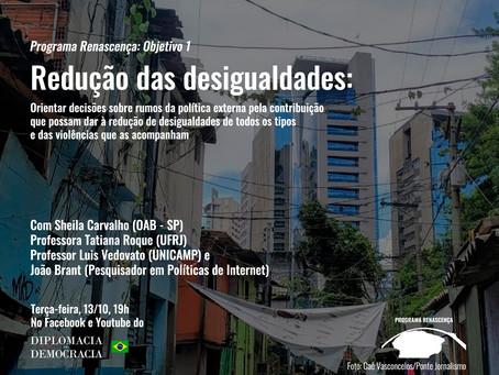 Redução das desigualdades | Programa Renascença: Objetivo 1