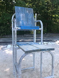 Lifeguard Chair Sanding/Painting (Main+Sabey's)