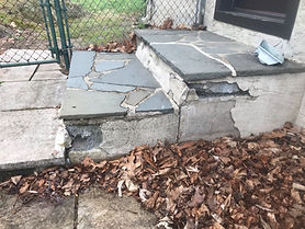 Clubhouse Steps Repair