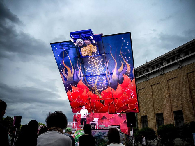 『中上健次ナイト』ー 京都国際現代芸術祭にて