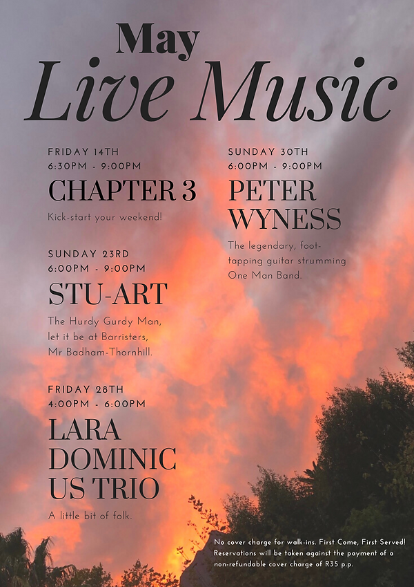 May 2021 Live Music at Barristers (1).pn