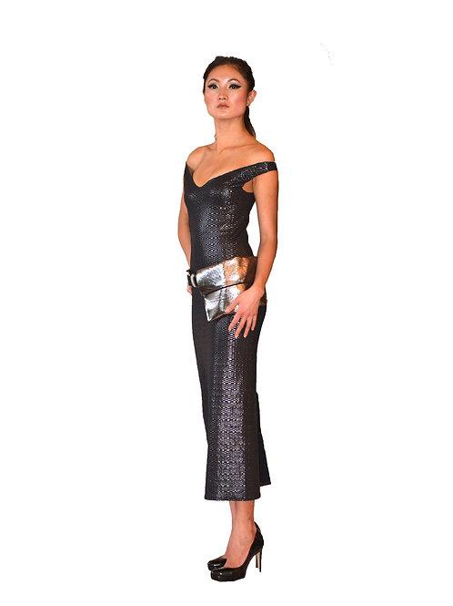Black Dress Knee/Maxi