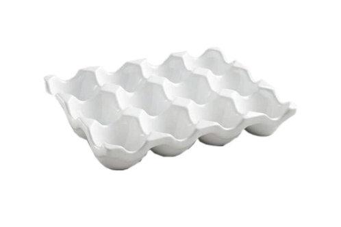 Stoneware Egg Holder