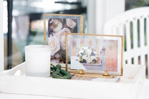 Brass & Glass Frames