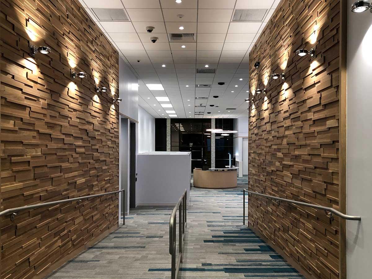 CUTTOFFS Wood Walls LEDGE White Oak Inst