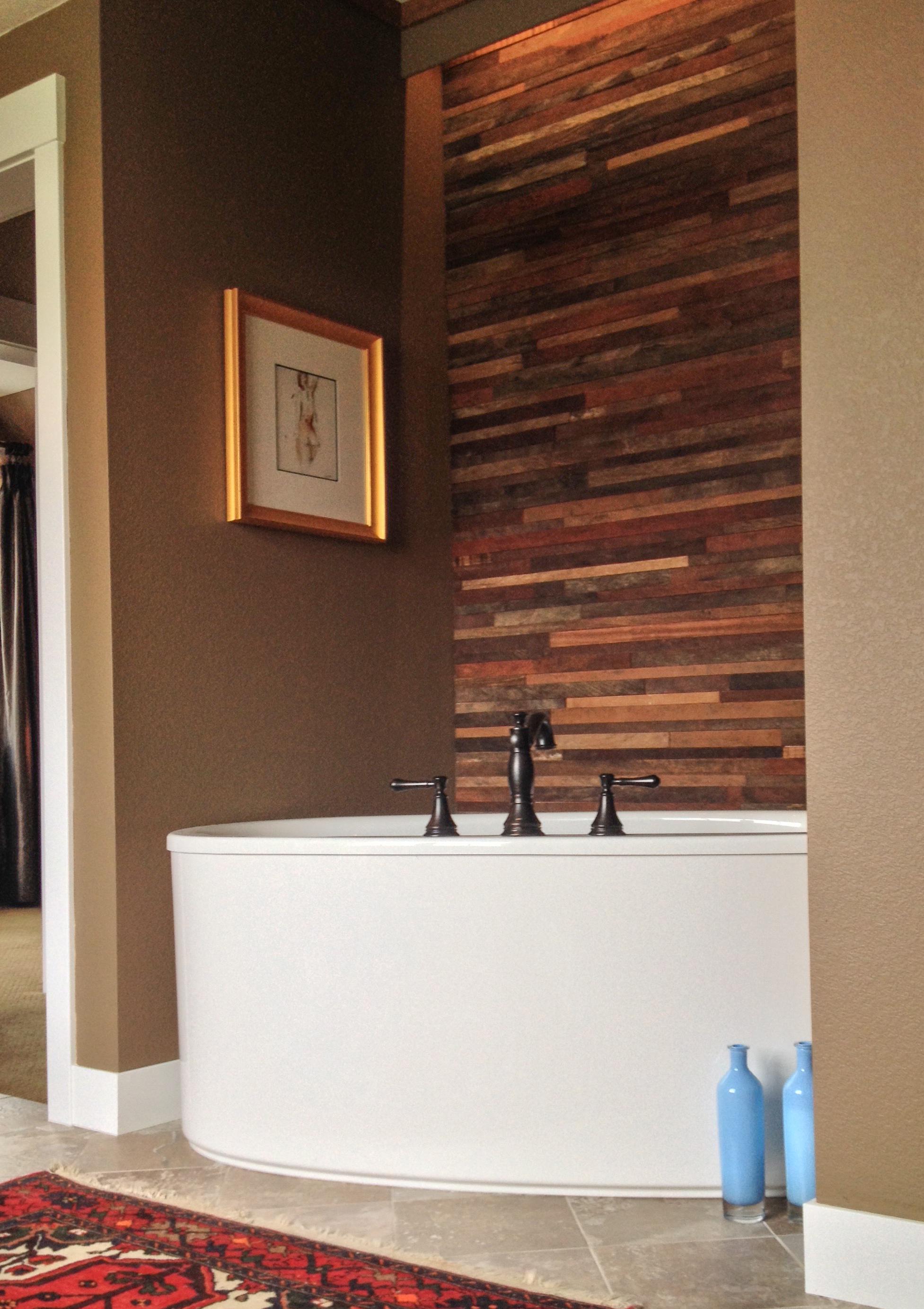 Cuttoffs reclaimed wood walls