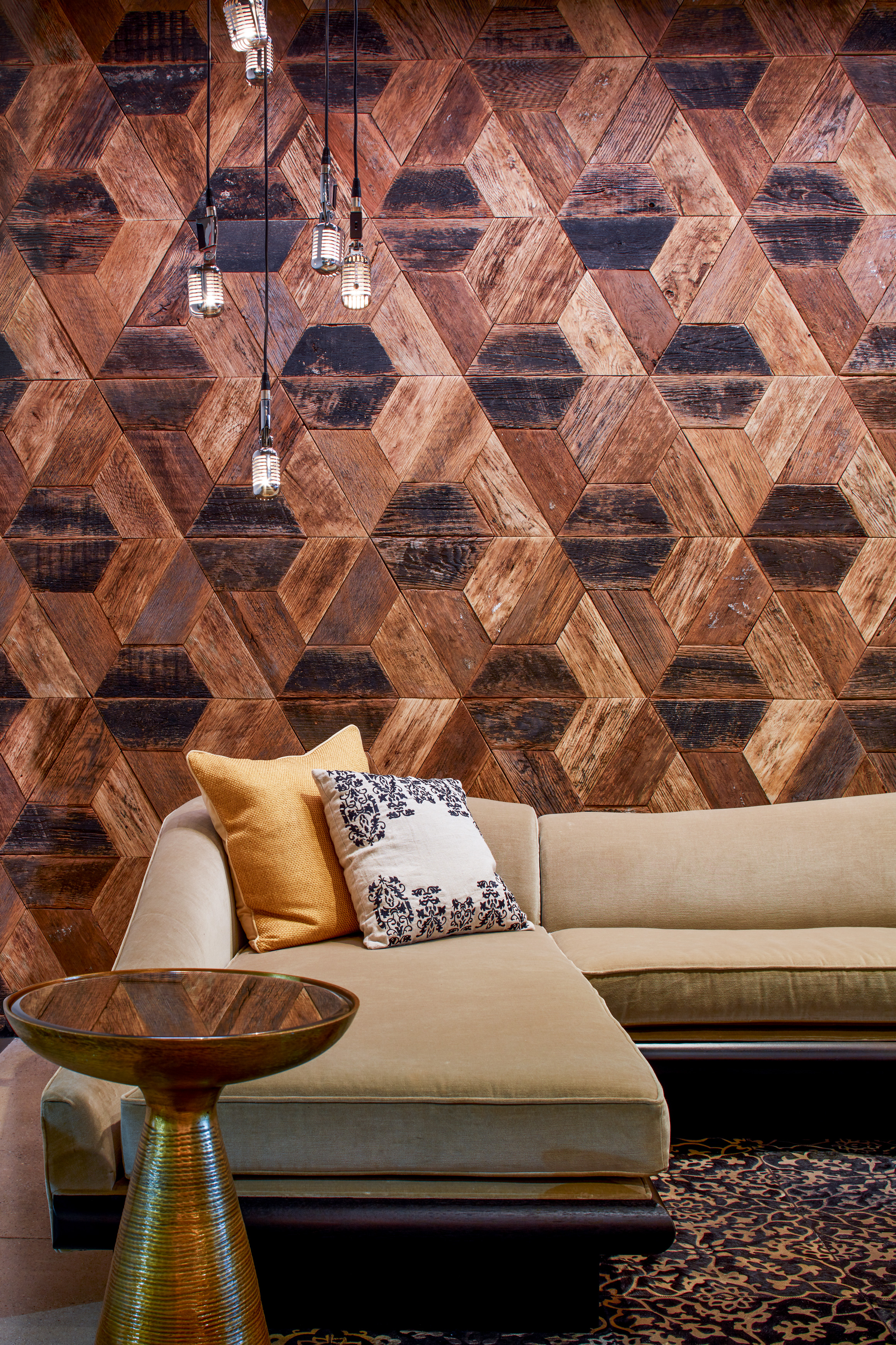 CUTTOFFS Trapezoid Wood Wall BMG_NY_2