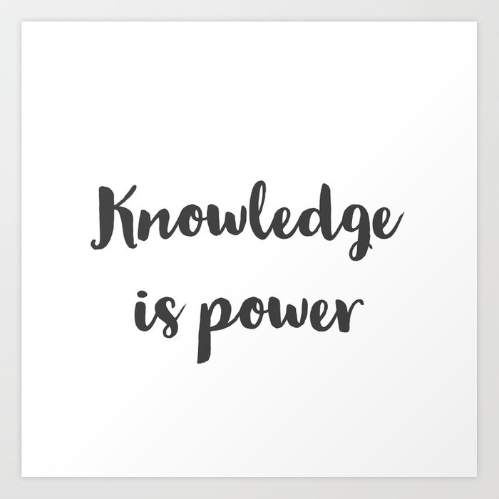 knowledge-is-power1732829-prints