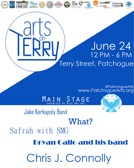 Arts on Terry 2018 Stage Line up