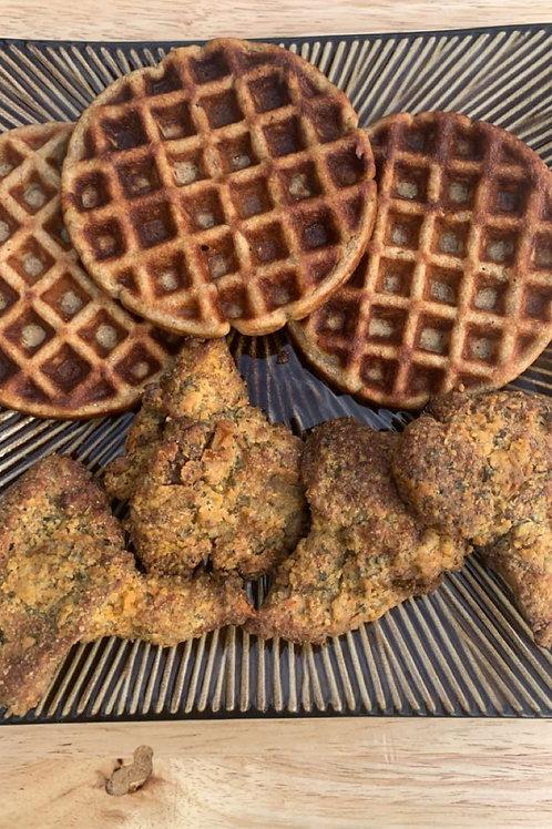 Lion Wings & Mini Waffles
