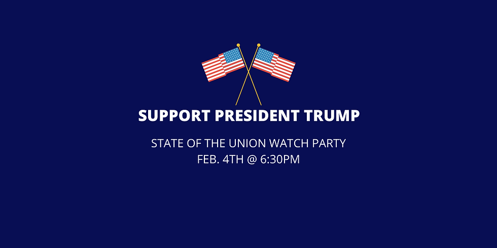 Trump State of the Union Watch Party