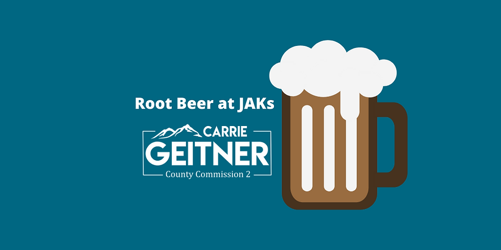 Root Beer with Carrie Geitner at JAKs in Falcon