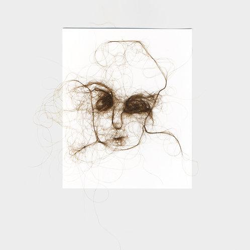 "Maria Walker / Sketches with air N18 ""Self Portrait"""