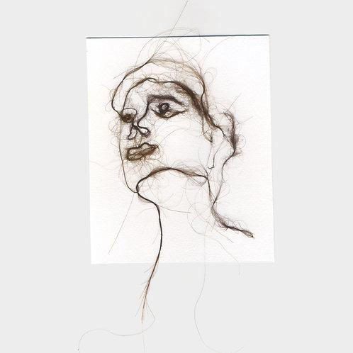 "Maria Walker / Sketches with air N20 ""Self Portrait"""