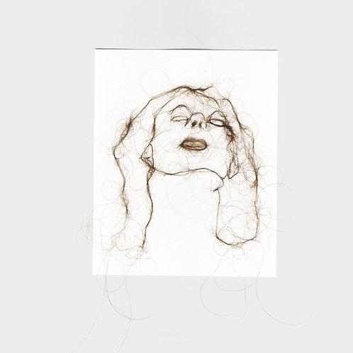 "Maria Walker / Sketches with air N7 ""Self Portrait"""