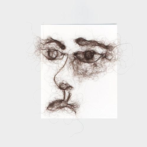 "Maria Walker / Sketches with air N10 ""Self Portrait"""