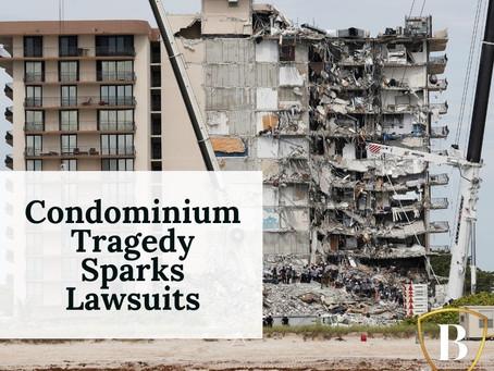 Condominium Tragedy Sparks Lawsuits