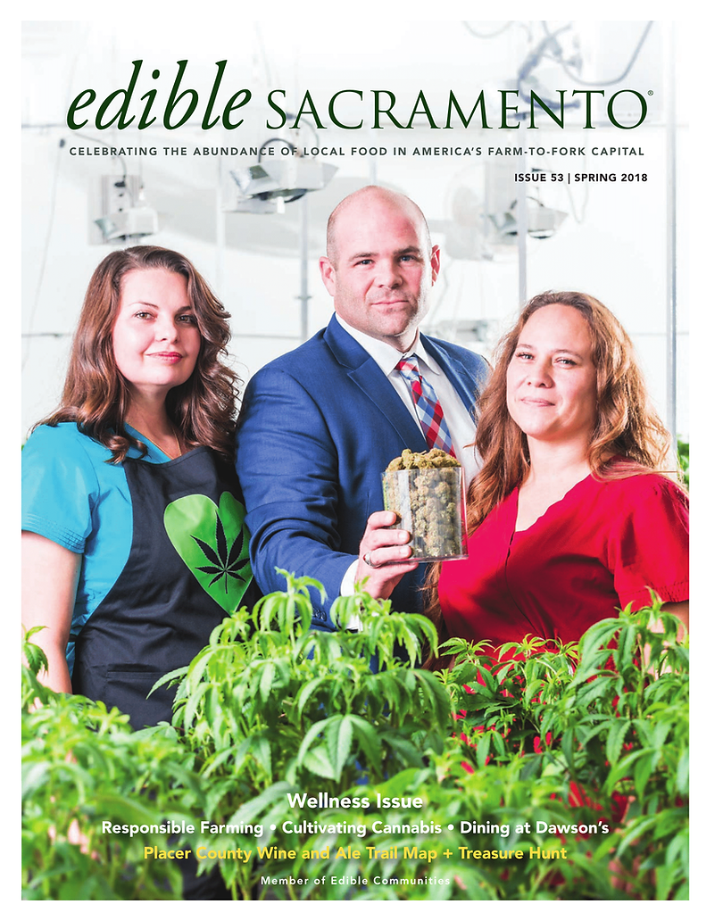 Edible Sacramento Spring 2018