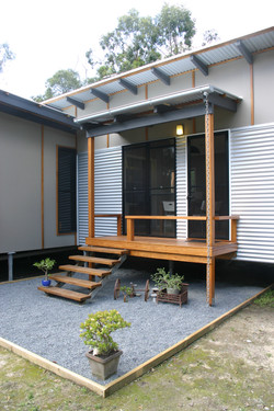 Entry deck to Kempsey dwelling